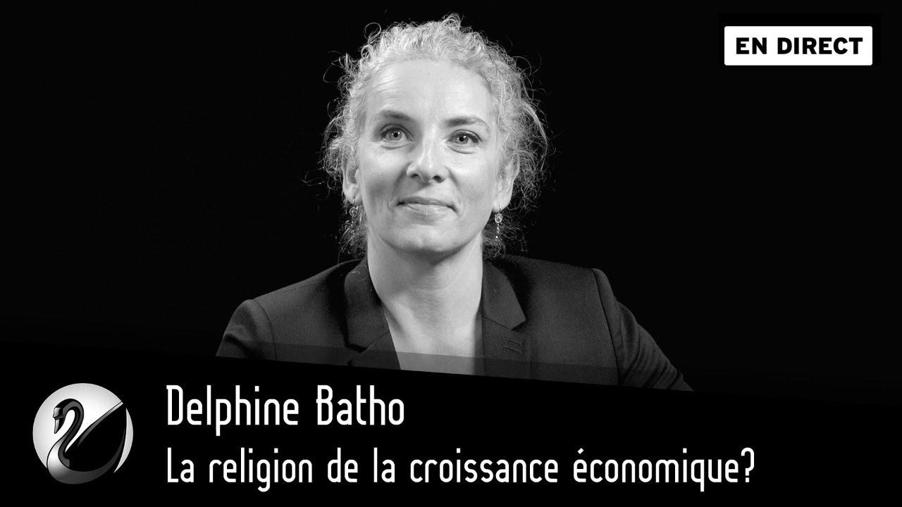 Delphine Batho : La religion de la croissance économique?