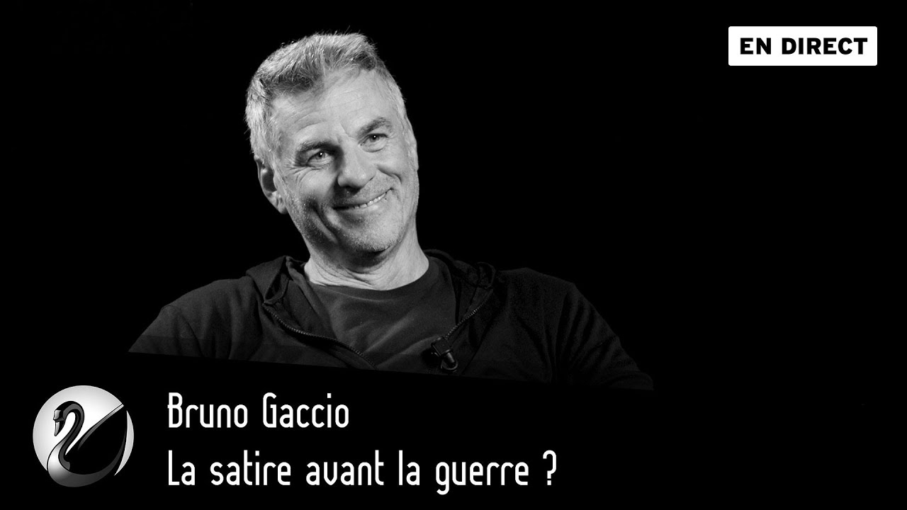 Bruno Gaccio : La satire avant la guerre ?